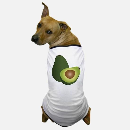 Avocado Guacamole Dog T-Shirt