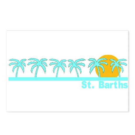 St. Barths Postcards (Package of 8)
