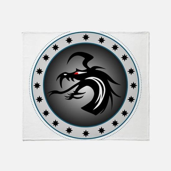 Dragon Sigil Throw Blanket