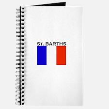 St. Barths Flag Journal