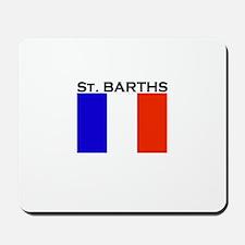 St. Barths Flag Mousepad