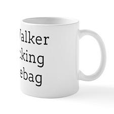 Scott Walker is a Fucking Douchebag Mug
