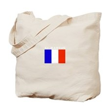 St. Barths Flag Tote Bag
