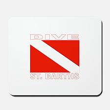 Dive St. Barths Mousepad