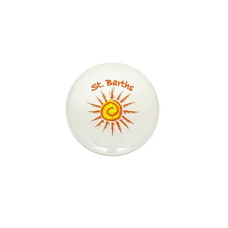 St. Barths Mini Button