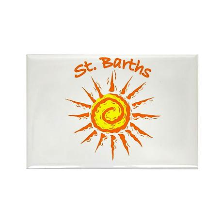 St. Barths Rectangle Magnet