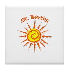 St. Barths Tile Coaster