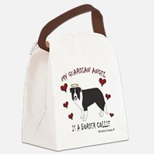 border collie Canvas Lunch Bag