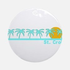 St. Croix, USVI Ornament (Round)