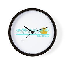 St. Croix, USVI Wall Clock