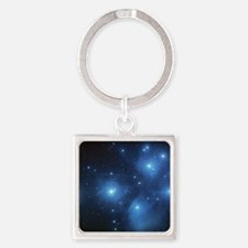 Sweet OM Pleiades pillowcase Square Keychain
