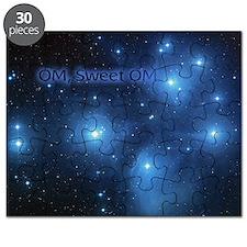 Sweet OM Pleiades twin duvet Puzzle