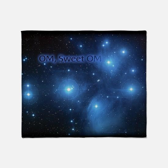 Sweet OM Pleiades twin duvet Throw Blanket