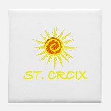 St. Croix, USVI Tile Coaster
