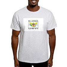 St. Croix, USVI Flag T-Shirt