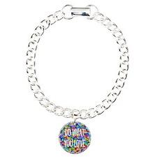 Do what you love Charm Bracelet, One Charm