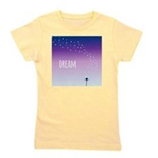 Dream and make a wish on a dandelion Girl's Tee