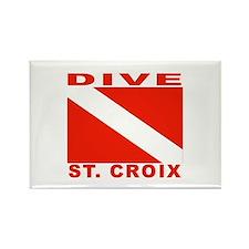 Dive St. Croix, USVI Rectangle Magnet