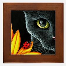 Cat 510 Framed Tile