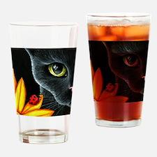 Cat 510 Drinking Glass