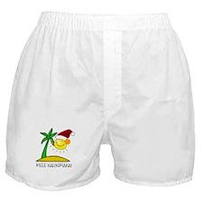 Hawaiian Christmas - Mele Kalikimaka Boxer Shorts