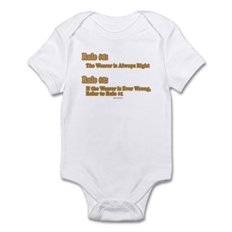 Always Right Infant Bodysuit