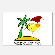 Hawaiian Christmas - Mele Kalikimaka Postcards (Pa