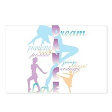 Dream Dance Love Postcards (Package of 8)