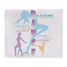 Dream Dance Love Throw Blanket
