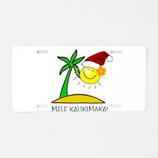 Hawaiian Christmas - Mele Kalikimaka Aluminum Lice