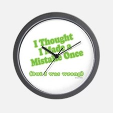Mistaken Wall Clock