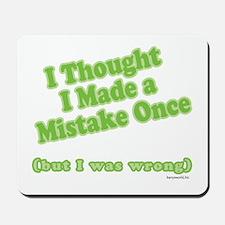 Mistaken Mousepad