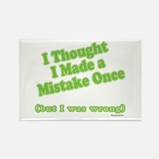 Mistaken Rectangle Magnet (10 pack)