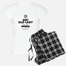 The Best in the World Old Lady Pajamas