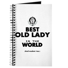 The Best in the World Old Lady Journal
