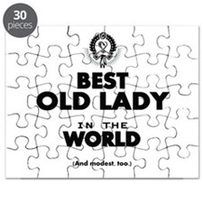 The Best in the World Old Lady Puzzle