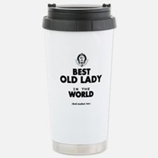The Best in the World Old Lady Travel Mug