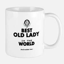 The Best in the World Old Lady Mugs