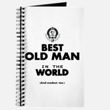 The Best in the World Old Man Journal