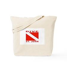 Dive St. John, USVI Tote Bag