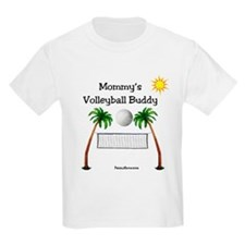 Mommy's Volleyball Buddy T-Shirt