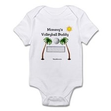 Mommy's Volleyball Buddy Infant Bodysuit