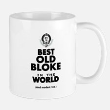 The Best in the World Old Bloke Mugs