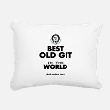 The Best in the World Old Git Rectangular Canvas P
