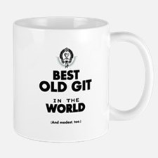 The Best in the World Old Git Mugs