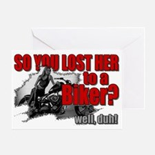 bikerlost Greeting Card