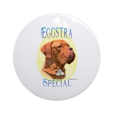 Eggstra Special Dogue Ornament (Round)