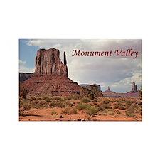 Monument Valley, Utah, USA 2 (cap Rectangle Magnet