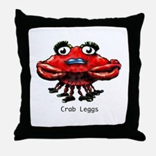 Crab Leggs Throw Pillow