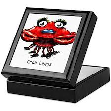 Crab Leggs Keepsake Box
